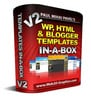 Thumbnail WordPress: HTML And Blog Templates In-A-Box