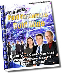 Product picture Paid Customers Gold Mine